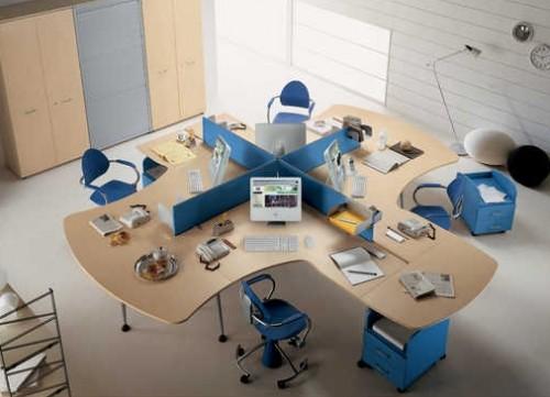 Mobili per ufficio la mercanti idee e soluzioni arredamento for Arredo ufficio padova
